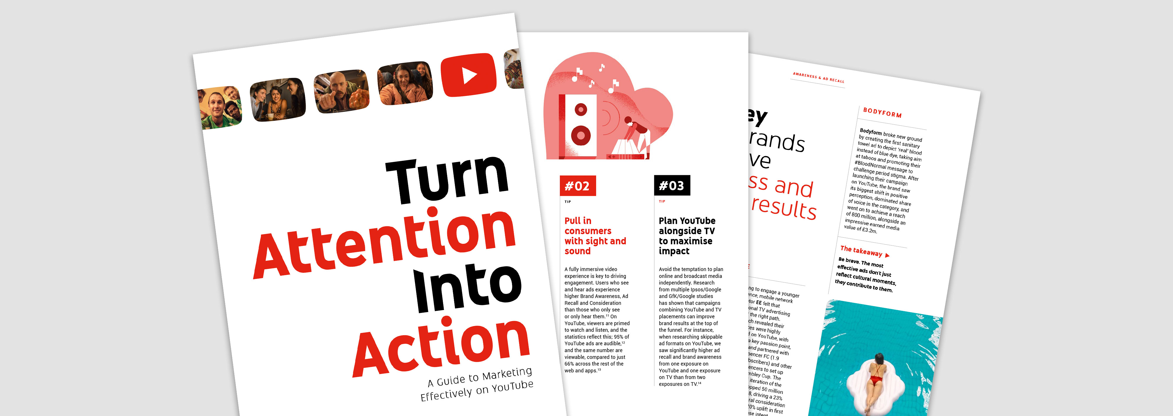 Turning Attention into Action