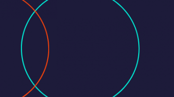 Circles on Navy