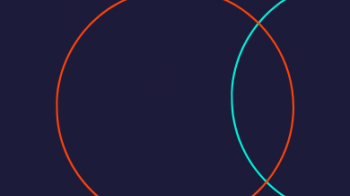Circles in navy