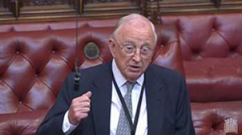 Image of Lord Gordon speaking in the House of Lords