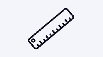Measurement and planning icon